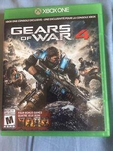 Gears of war 4 excellent condition