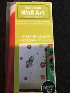 Glow N Dark Peel & Stick Wall Decor
