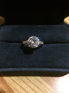 Kenneth Jay Lane Engagement Ring