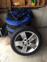 A1 TIRES ARE ROUND, RUBBER RIMMED AND READY!!!!