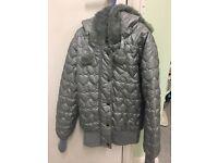 Sliver girls jacket 12-13years VGC