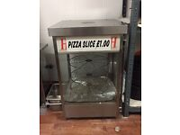 Pizza warmer stand commercial