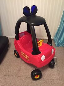 Little tikes Mickey Mouse bubble car
