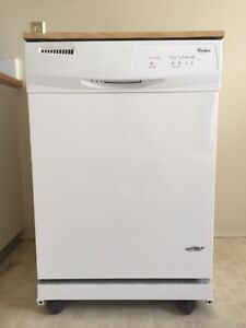 **REDUCED** portable whirlpool dishwasher