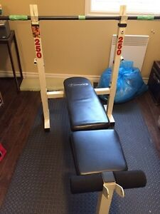 Variety of exercise equipment