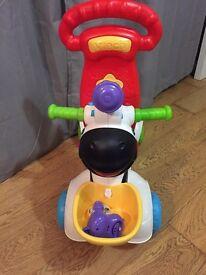 Vtech 3in1 zebra toy