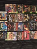 Assorted video games for sale. $255 value in games...$200 o.b.o