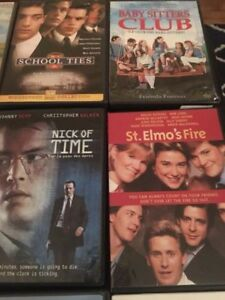 DVDs and Blus for sale