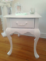 Shabby chic night tables