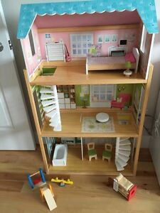 Doll House and Accessories