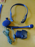 X-BOX LIVE    headset   with adapter (complete)