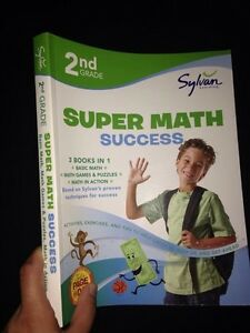 Brand new Sylvan 2nd grade super math book