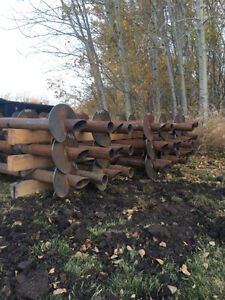 SCREW PILES INSTALL AND SUPPLY OR INSTALL ONLY Strathcona County Edmonton Area image 7