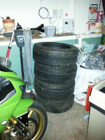 Pirelli 17' tires and steel rims Brand new