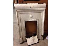 Cast iron fire surrounds vintage