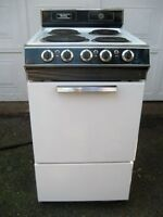 WANTED : looking for an electric stove 20 inches wide Danby