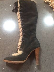 Marc Jacobs Tall Lace-up Suede Boots  Strathcona County Edmonton Area image 3