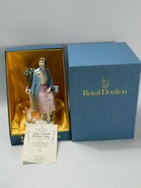 Royal Doulton 'Queen Elizabeth The Queen Mother as the duchess of York HN3230 in orignal box