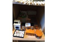 Wanted job lots of dolls house furniture ect