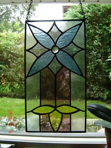 Stained Glass Victorian panel