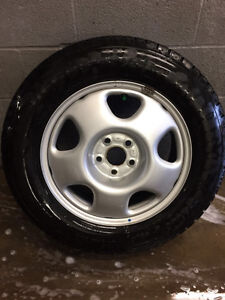 Winter tire and rim package Peterborough Peterborough Area image 1