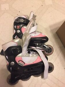 Girls Rollerblades adjustable 10-13 Junior