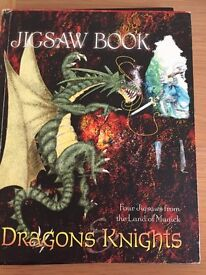 Knights and Dragons Picture Puzzle Book