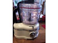 Kitchenaid Food Processor Cream 4L