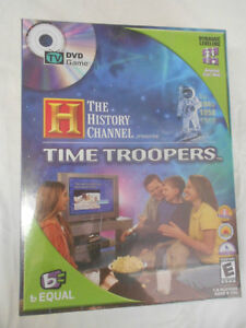 Time Troopers DVD Game- Ages 6-106-NEW! Still SEALED London Ontario image 1