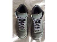Nike Air grey Hi-Tops, size 6