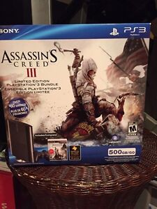PlayStation 3 - Assassin's Creed 3 combo pack