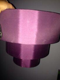 3 tier purple light shade