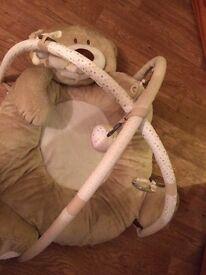 Mothercare teddys toybox playmat