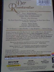 OPERA DVD  DER ROSENKAVALIER  Strauss/Solti/Kanawa West Island Greater Montréal image 3