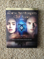 City of Bones BLURAY plus The Mortal Instruments boxset 1-4