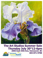 Art Studios Summer Sale