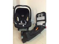 Britax Baby Safe SHR plus II car seat and ISOFIX base