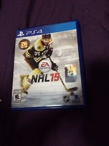 NHL 15 PS4 BRAND NEW NEVER OPENED