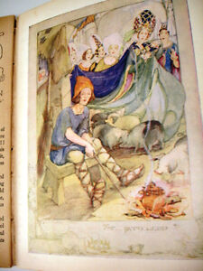1940s rare WARTIME ANDERSEN'S FAIRY TALES plates Anne Anderson Cambridge Kitchener Area image 6