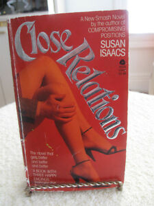 EXCELLENT SOFT-COVERED NOVEL ...CLOSE RELATIONS [ISAACS]