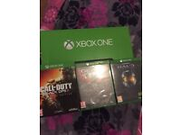 XBOX ONE + 3GAMES FOR £130
