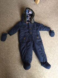 Baby boys snow suit