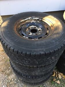 Winter Tires and Rims - 245/75R16