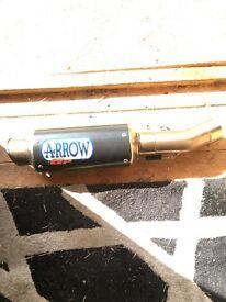 Arrow gp 2 exhaust