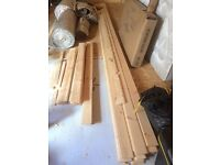 T&G pine boards 2.4m