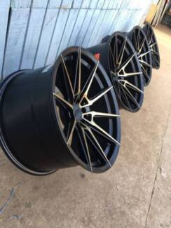18 inch set of rims and tyres subaru impreza sport pack 18x8.5 Arncliffe Rockdale Area Preview