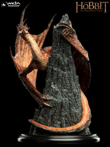 Weta Collectibles The Hobbit Smaug the Magnificent Mini Statue New and In Stock
