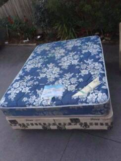 good used double size base mattress, can delivery at extra fee.