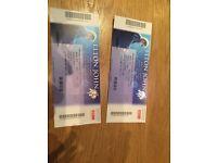 2 x Elton John Tickets - Newcastle 3rd December 2016