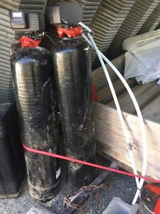 Water softener and iron filter